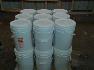 Pellet Buckets